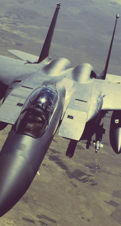 F-15E Strike Eagle - The iPhone Wallpapers