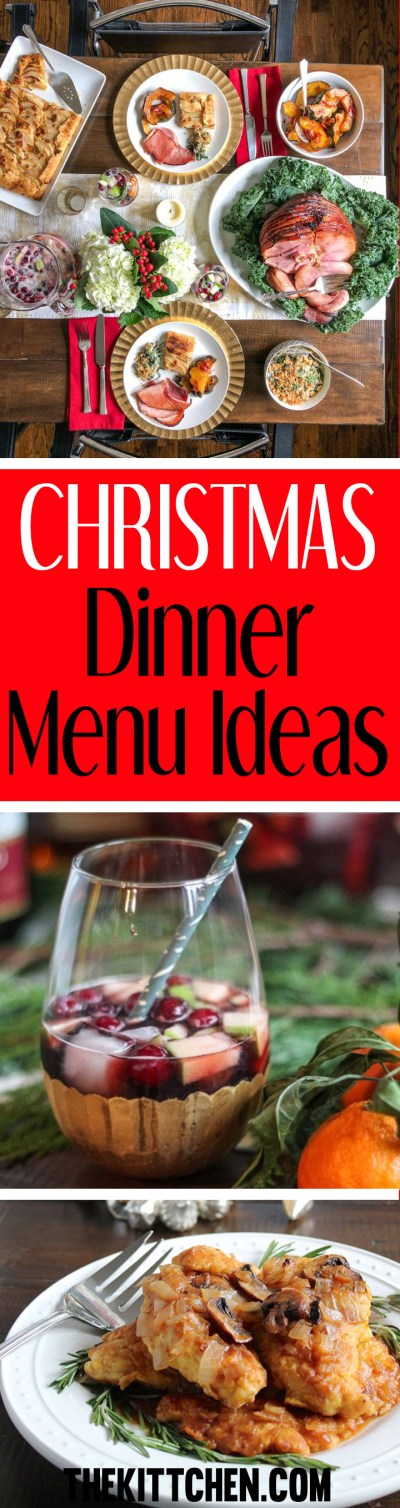 Christmas Dinner Menu Ideas - Plan a Memorable Meal for Your Family