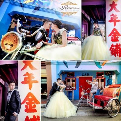 Creative Singapore Pre-wedding Photoshoot Ideas