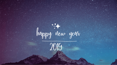 Happy New Year 2019 HD Wallpapers and Pictures in a Zip File