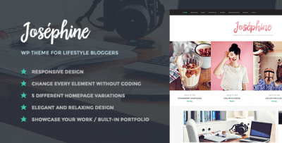 Top 15 Lifestyle Blog WordPress Themes + Freebie