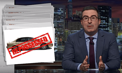 The Sub-Prime Auto Lending BUBBLE: Last Week Tonight with John Oliver (HBO) – The Phaser