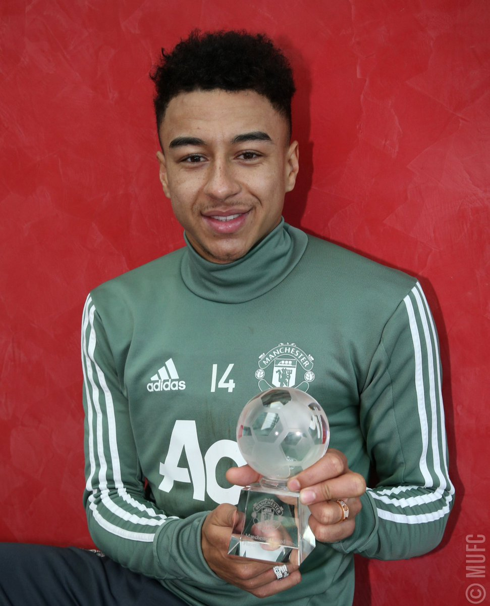 Lingard unsurprisingly voted United s player of the month