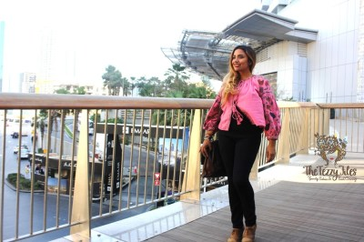 #OOTD The Zara Pink Peasant Jacket – The Tezzy Files