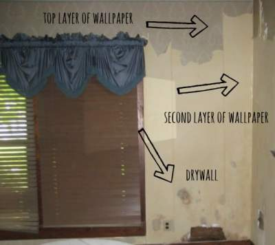 The Best Way to Remove Wallpaper - Thistlewood Farm