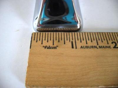 CHROME Metal & Clear Plastic Acrylic Lucite Towel Ring Bar Holder Rack Stirrup 19442486679 | eBay
