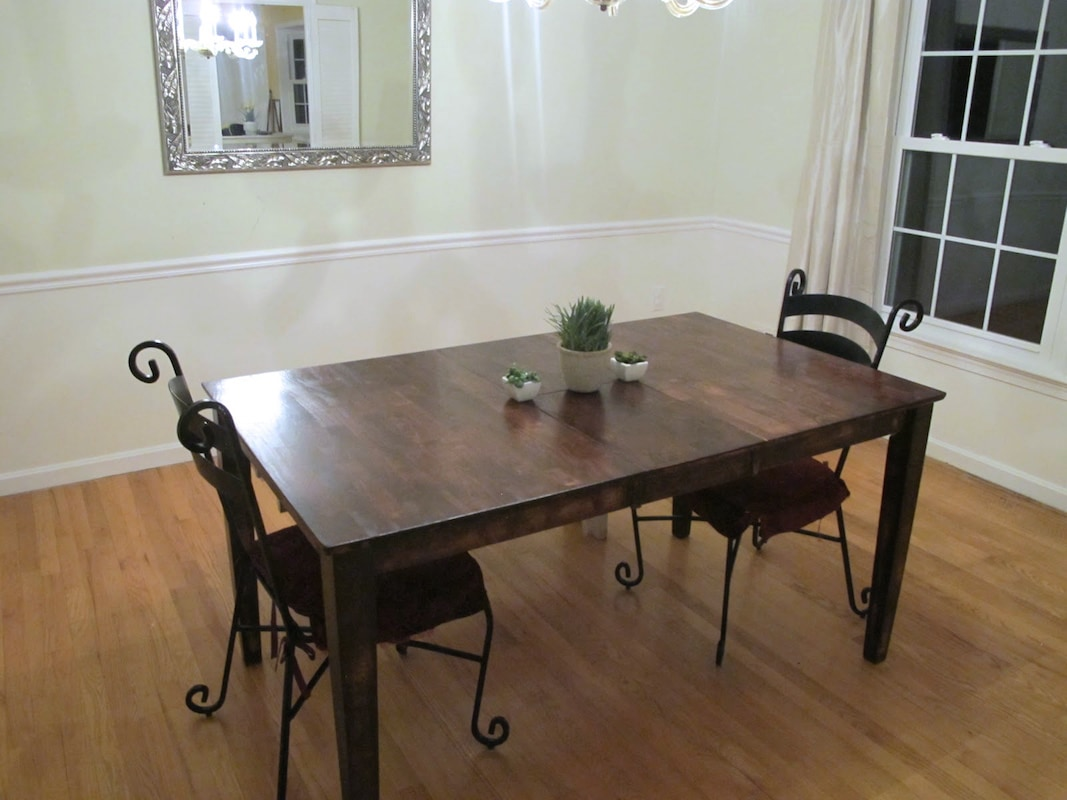 colossal diy failor rustic chic refinishing kitchen table Dining Room Table Refinishing New Stain