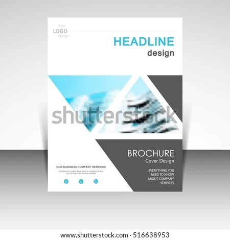 Business Annual Report Brochure Design Vector Stock Vector 516638953     Business annual report brochure design vector illustration  Business  presentation  poster  cover  booklet