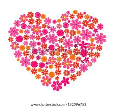 Elegant Love Heart Background Made Out Stock Illustration 182396753 - Shutterstock