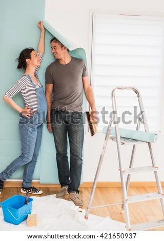 Thirty Years Old Manual Worker Wall Stock Photo 519886975 - Shutterstock