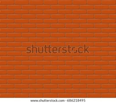 Red Brick Wall Clipart 库存图片、免版税图片及矢量图 | Shutterstock