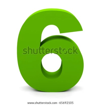 Number 6 Stock Images, Royalty-Free Images & Vectors | Shutterstock