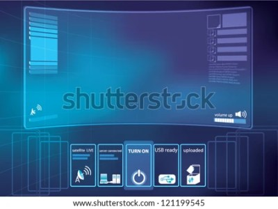 Abstract Technology Background Vector Illustration Control Image vectorielle de stock de ...
