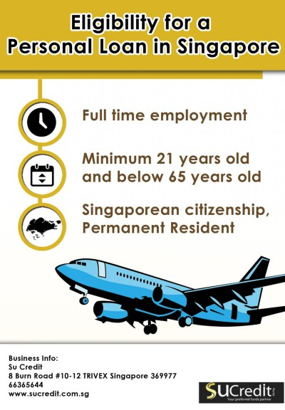 Eligibility for a Personal Loan in Singapore   Visual.ly