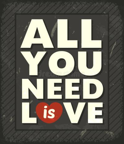 All You Need Is Love Stock Images - Image: 34381494