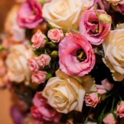 Beautiful Bouquet of Mixed Flowers Close Up Stock Photo Image Of
