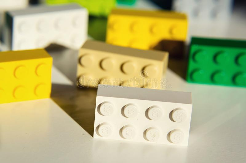 Colorful Lego Bricks By The Lego Group Isolated On White Background     Download Colorful Lego Bricks By The Lego Group Isolated On White  Background Editorial Image   Image