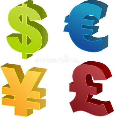 Currency Symbol Illustrations Stock Vector - Illustration of accounting, financial: 1090633
