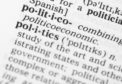 Macro Image Of Dictionary Definition Of Politics Stock Photo - Image of letters, buzzword: 32539170