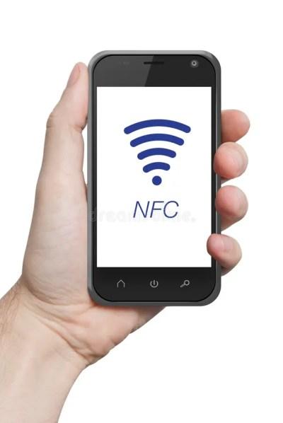 NFC Near Field Communication Stock Photo - Image: 37467730