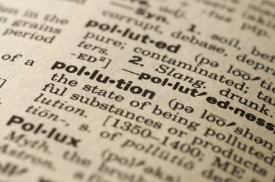 Pollution Dictionary Definition Stock Photo - Image of black, paper: 8792382