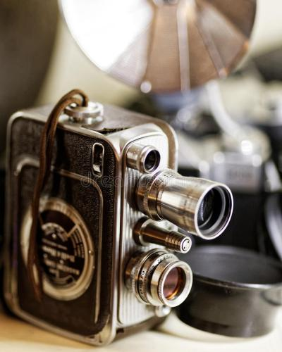 Vintage 8mm Home Movie Camera Stock Photo - Image: 53769009
