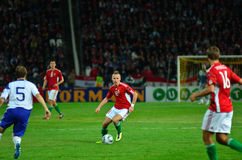 Balazs Dzsudzsak In Romania-Hungary World Cup Qualifier Game Editorial Photo - Image: 34002816
