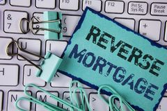 Reverse Mortgage Stock Photos - Royalty Free Images