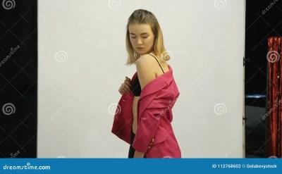 Backstage Fashion Model Photoshoot Lifestyle Stock Photo ...