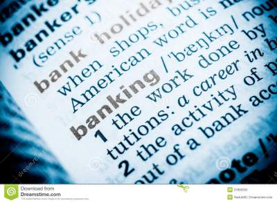 Banking Word Definition Royalty Free Stock Photo - Image: 37895555