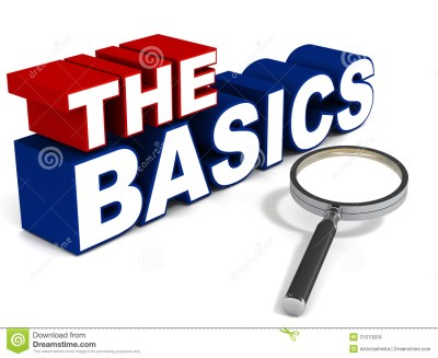 The basics stock illustration. Illustration of concept - 31013204
