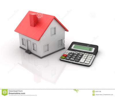 Calculator And House Royalty Free Stock Photos - Image: 28437168
