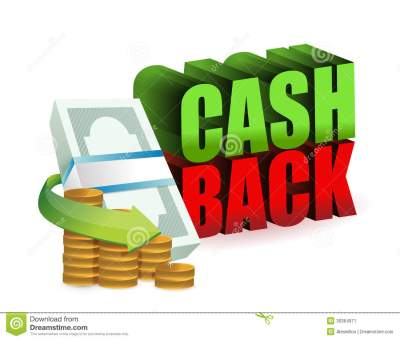 Cash Back Money Sign Illustration Design Stock Image - Image: 30364971