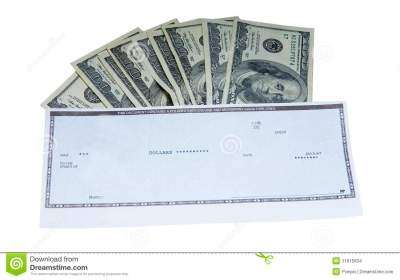 Cash and Check stock photo. Image of cash, american, america - 11615834
