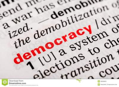 Democracy Word Definition Royalty Free Stock Images - Image: 38638829