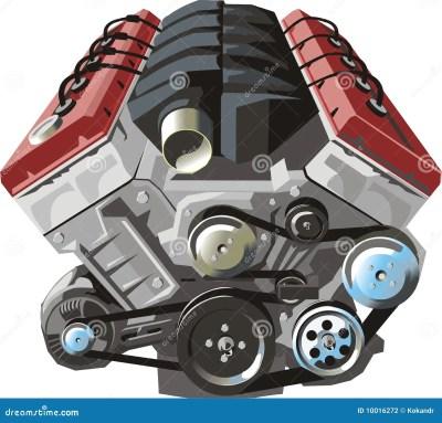ENGINE Stock Photography - Image: 10016272