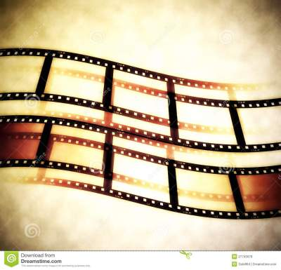 Film Roll Background Royalty Free Stock Photos - Image: 27745678