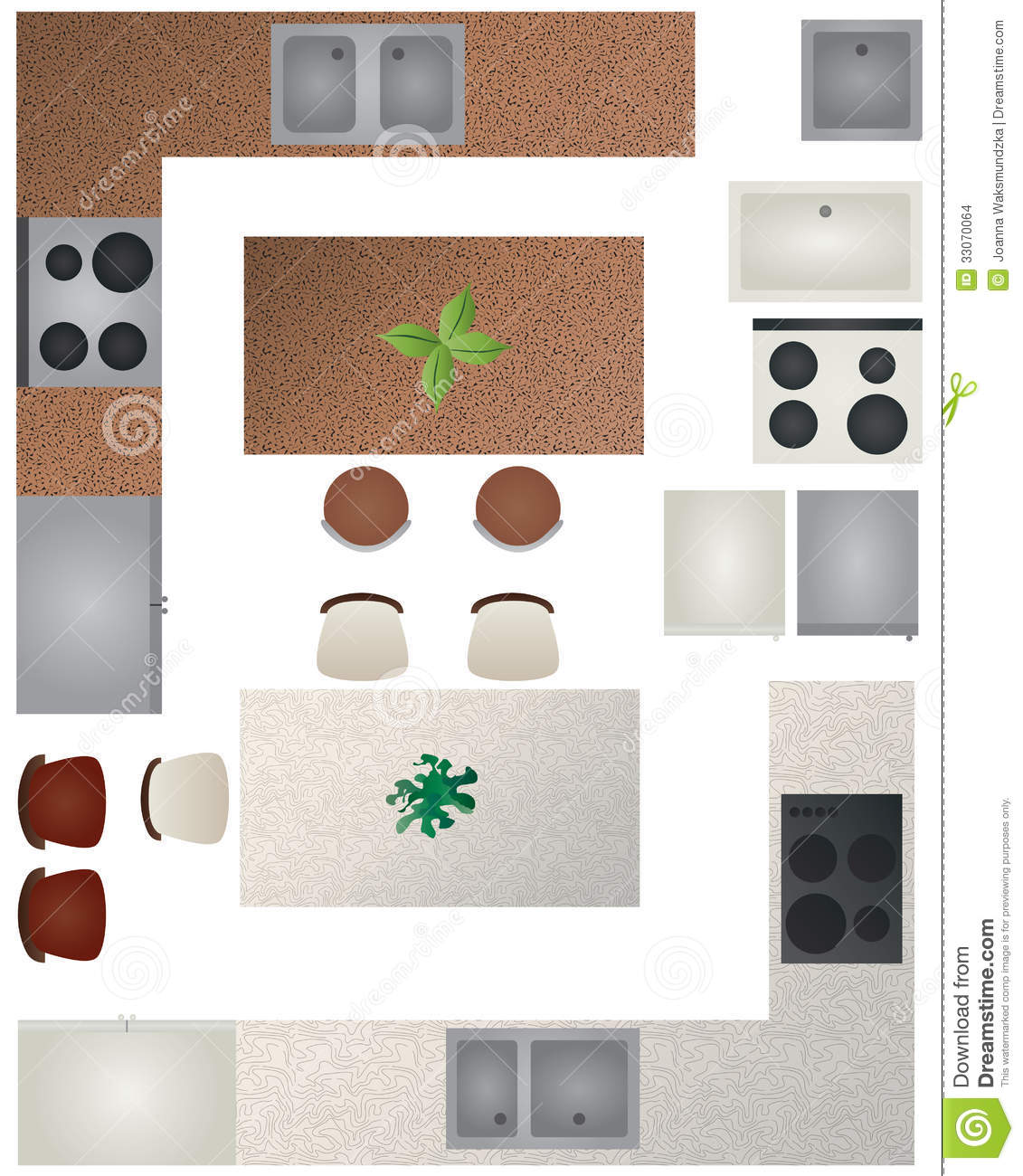 stock images floor plan kitchen collection furniture can be used making image kitchen floor plans Floor Plan Kitchen Collection