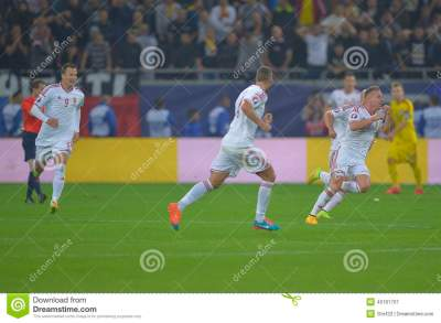 Goal celebration editorial photography. Image of ball - 46181707