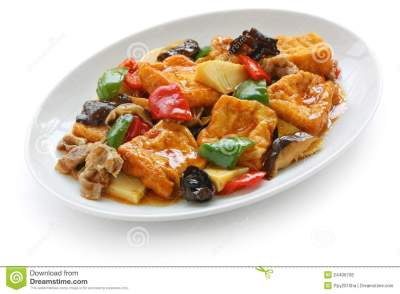 Home Style Bean Curd Royalty Free Stock Image - Image ...