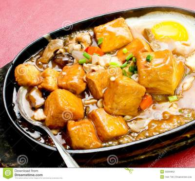 Home Style Bean Curd, Chinese Tofu Cuisine Stock Photo ...