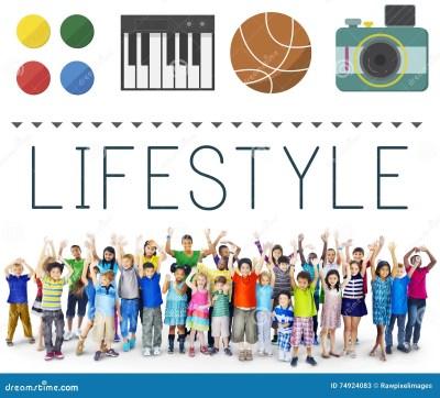 Lifestyle Culture Habits Hobbies Interests Life Concept ...