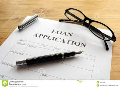 Loan Application Royalty Free Stock Photography - Image: 14600547