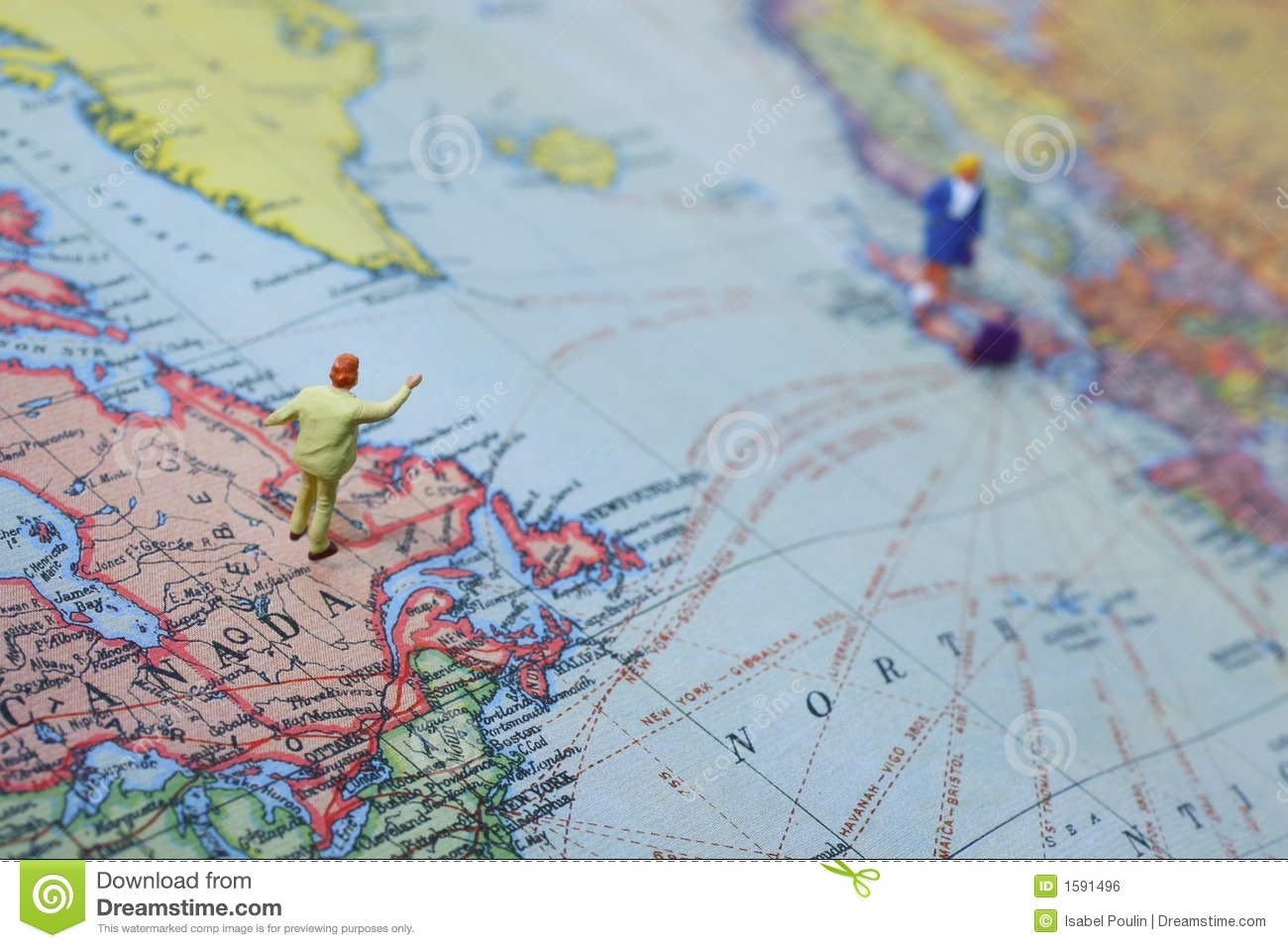 Long distance love stock photo  Image of couples  distance   1591496 two miniature people standing on a map  distance