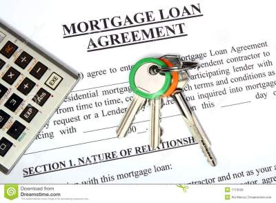 Mortgage Loan Application Form Royalty Free Stock Images - Image: 7173559