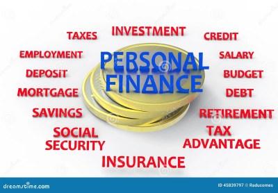 Personal Finance Render Stock Illustration - Image: 45839797