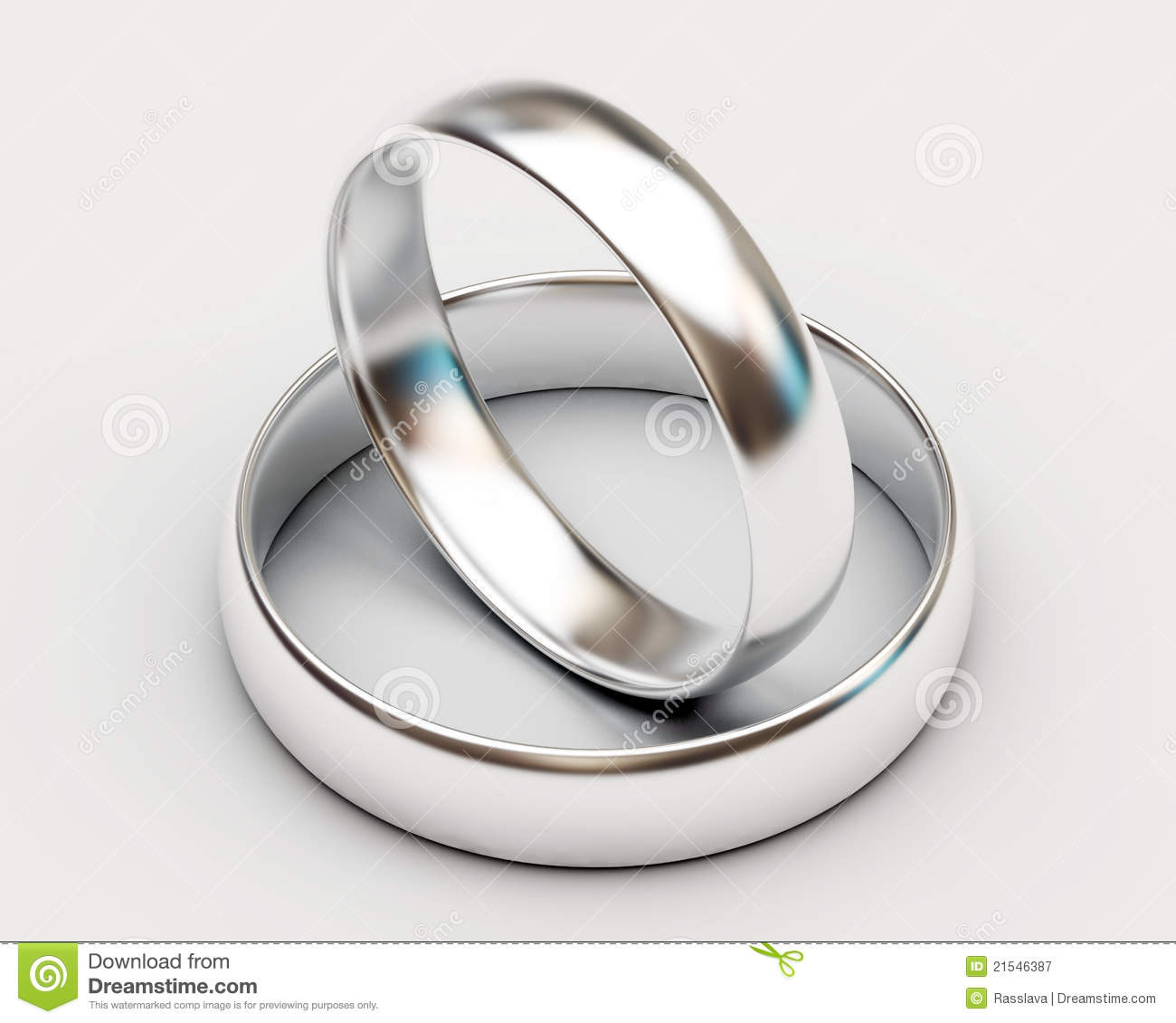 stock images platinum wedding rings white background image platinum wedding bands Platinum wedding rings on white background Royalty Free Stock Photography