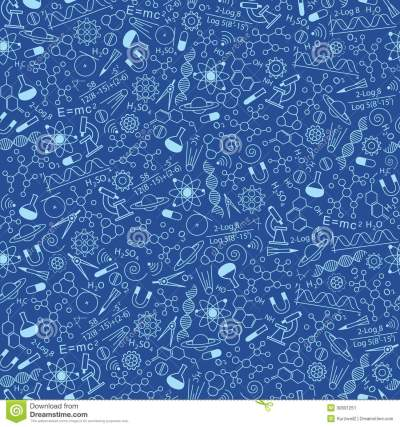 Science Pattern Stock Image - Image: 30601251