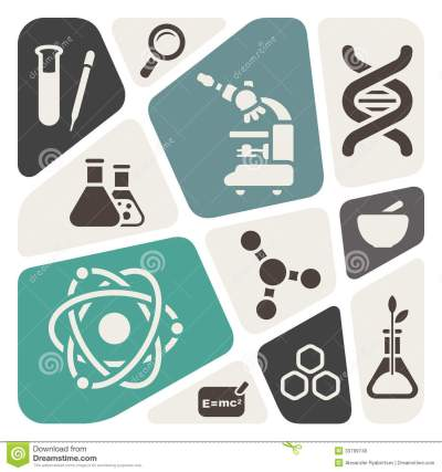 Science theme background stock illustration. Illustration of research - 33799740