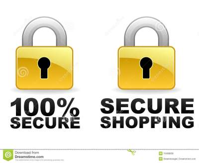 Secure Web Banners Royalty Free Stock Photos - Image: 16488838